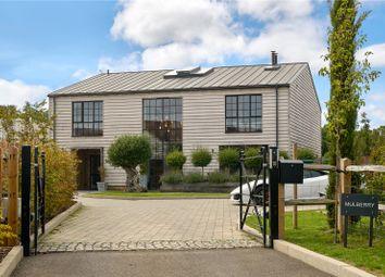 Pitt Lane, Frensham, Farnham, Surrey GU10. 4 bed detached house for sale