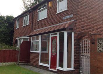 Thumbnail 3 bed semi-detached house to rent in Miltion Close, Whiston