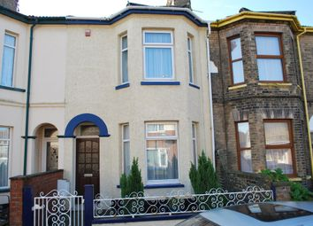 Thumbnail 2 bed terraced house to rent in Lorne Park Road, Lowestoft