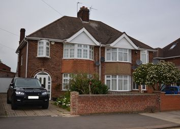 Thumbnail 3 bed semi-detached house to rent in Oldfield Road, Bedford