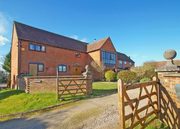 Thumbnail 4 bed barn conversion for sale in Hanbury, Droitwich