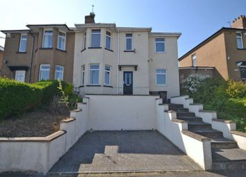 Thumbnail 4 bed semi-detached house for sale in Four Bedroom Family House, Queens Hill Crescent, Newport