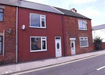 Thumbnail 2 bed terraced house to rent in North Road, Clowne, Chesterfield