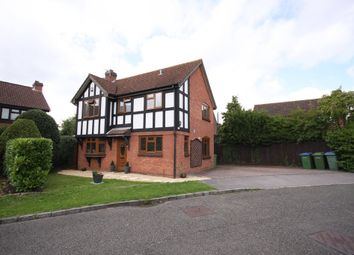 Thumbnail 4 bed detached house for sale in Gray Close, Warsash, Southampton