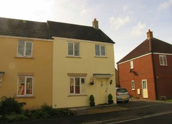 Thumbnail 3 bed end terrace house to rent in The Badgers, St. Georges, Weston-Super-Mare