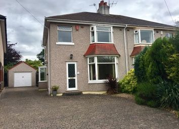 Thumbnail 3 bed semi-detached house for sale in Hatlex Drive, Hest Bank, Lancaster, Lancashire