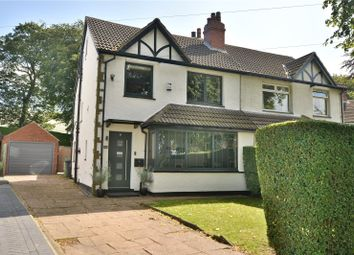 Thumbnail 4 bed semi-detached house for sale in Wensley Drive, Chapel Allerton, Leeds