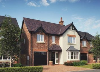 Thumbnail 4 bed detached house for sale in Chetwynd Mere, Newport, Shropshire
