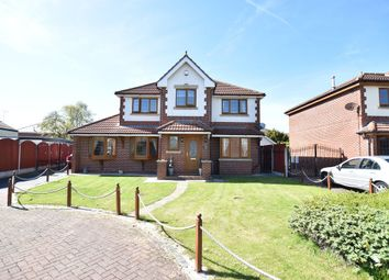 Thumbnail 4 bed detached house for sale in Roxburgh Road, Blackpool