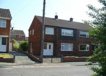 Thumbnail 3 bed semi-detached house to rent in Powis Drive, Mount Pleasant, Shrewsbury