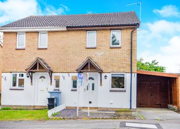 Thumbnail 2 bedroom semi-detached house for sale in Heather Close, Carterton