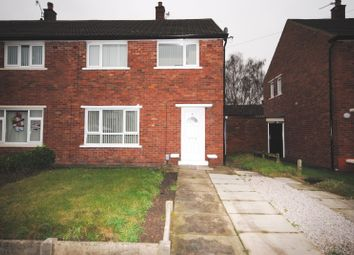 Thumbnail 2 bed semi-detached house to rent in Hall Road, Haydock, St. Helens