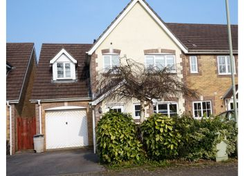 Thumbnail 3 bed semi-detached house for sale in New Candlestone, Bridgend