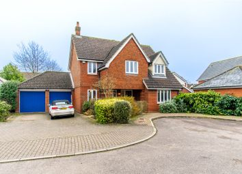 Thumbnail 4 bed detached house for sale in Heather Close, Bishop's Stortford