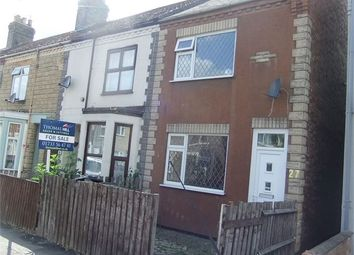 Thumbnail 3 bedroom end terrace house for sale in Thistlemoor Road, New England, Peterborough, Cambridgeshire.