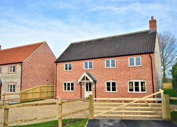 Thumbnail 4 bedroom detached house for sale in Wood Norton Road, Stibbard, Fakenham