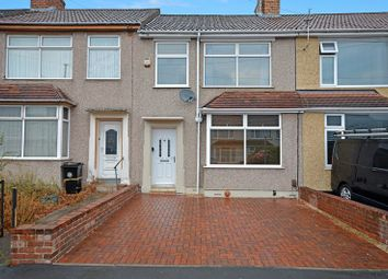 Thumbnail 3 bed terraced house for sale in Newent Avenue, Kingswood, Bristol