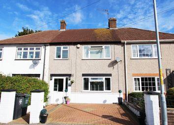 Thumbnail 3 bed terraced house for sale in Clarenden Gardens, Dartford, Kent