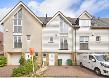 Thumbnail 3 bed terraced house for sale in Paxton Avenue, Hawkinge, Folkestone