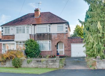 Thumbnail 3 bed semi-detached house for sale in Newton Road, Aston Fields, Bromsgrove