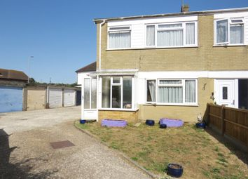Thumbnail 3 bed end terrace house for sale in Downlands Gardens, Broadwater, Worthing