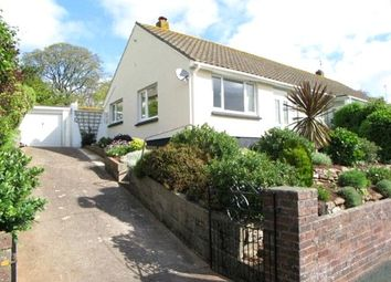 Thumbnail 2 bed semi-detached bungalow to rent in Laywell Close, Brixham, Devon