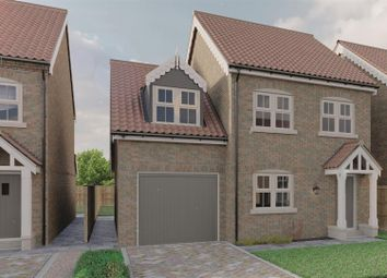 Thumbnail 3 bed detached house for sale in Plot 6, Burton Fields, New Road, Brandesburton