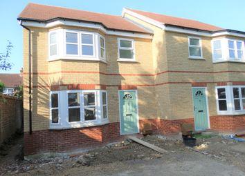 Thumbnail 3 bedroom semi-detached house for sale in Burnham Avenue, Bognor Regis