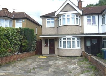 Thumbnail 3 bed end terrace house to rent in Lynton Road, Harrow, Middlesex