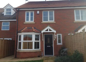 Thumbnail 2 bed semi-detached house to rent in Hampton Court, Gloucester