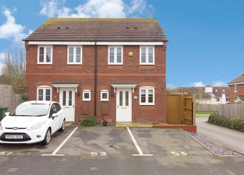 Thumbnail 2 bed semi-detached house for sale in Rowan Close, Cannock