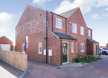 Thumbnail 3 bed semi-detached house for sale in Penrose Place, Manby