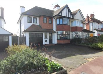 Thumbnail 4 bed semi-detached house for sale in Kenilworth Gardens, Westcliff-On-Sea