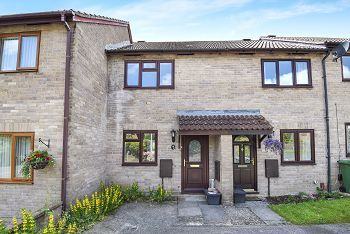 Thumbnail 2 bed terraced house for sale in Middleton Close, Warminster