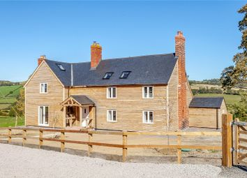 Thumbnail 4 bedroom detached house for sale in Upper Pen Y Gelli Farm, Kerry, Powys
