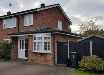 Thumbnail 3 bed semi-detached house for sale in St. Francis Close, Watford