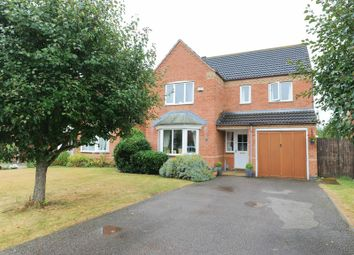 Thumbnail 4 bed detached house for sale in Waltham Drive, Elstow, Bedford
