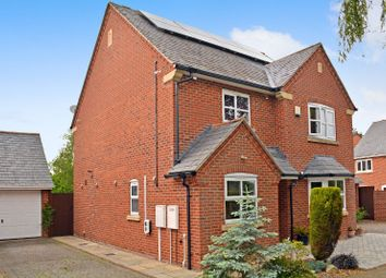Thumbnail 4 bed detached house for sale in Spion Kopje, Great Glen, Leicester