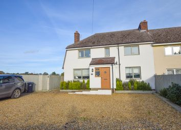 Thumbnail 4 bed semi-detached house for sale in Station Road, Kennett, Newmarket