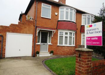 Thumbnail 3 bed semi-detached house for sale in Berwick Grove, Norton, Stockton-On-Tees