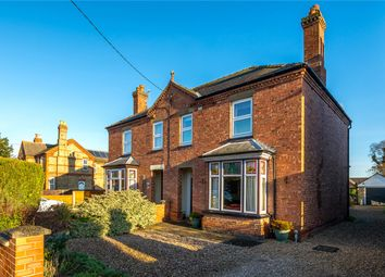 Thumbnail 3 bedroom semi-detached house for sale in Chestnut Street, Ruskington, Sleaford, Lincolnshire