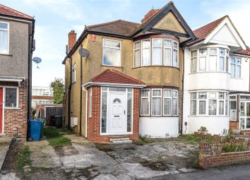 Thumbnail 3 bed semi-detached house for sale in Hartford Avenue, Harrow, Middlesex