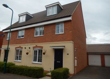Thumbnail 3 bed semi-detached house for sale in Nairn Drive, Orton Northgate, Peterborough