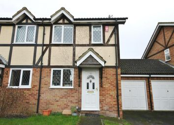 Thumbnail 2 bed semi-detached house to rent in Ravenfield, Englefield Green, Egham, Surrey
