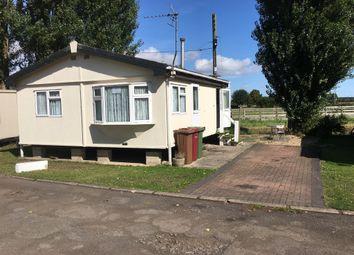 Thumbnail 2 bed mobile/park home for sale in Trentside Trailer Park, Burringham, Scunthorpe