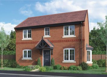 "Thumbnail 3 bed detached house for sale in ""Milton"" at Burton Road, Streethay, Lichfield"
