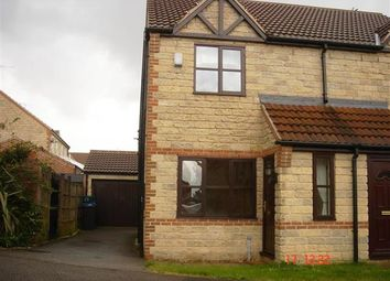 Thumbnail 2 bedroom semi-detached house to rent in Weeping Elm Way, Scunthorpe