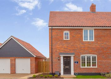 Thumbnail 3 bed end terrace house for sale in Plot 83, The Beche, Saxon Meadow, Days Road, Capel St. Mary, Ipswich