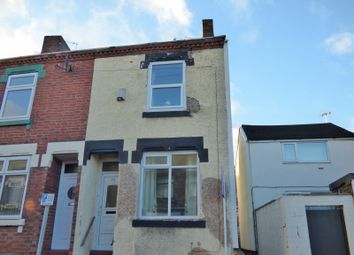 Thumbnail 2 bedroom end terrace house to rent in St John Street, Hanley, Stoke On Trent