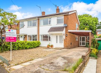 Thumbnail 4 bed semi-detached house for sale in Morton Road, Aylsham, Norwich